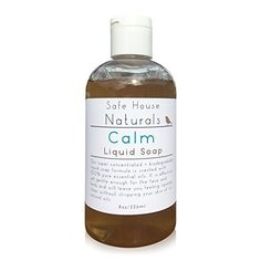 Safe House Naturals 100 Natural  Toxin Free  Bliss Face and Body Wash  Made in USA with Coconut Oil  Pure Essential Oils of Clary Sage Bergamot and Myrrh  Great for All Skin Types * You can get additional details at the image link.
