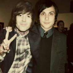 WHAT?! Frank and Oli! It's Perfect.... Oh my God...