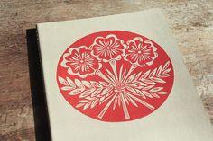 Flower Bouquet Journal XL lined kraft cahier by jessnielsen