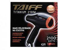 Secador de Cabelo Taiff Titanium Colors - 2100W 2 Velocidades com as melhores condições você encontra no Magazine Maxeletrotop. Confira!