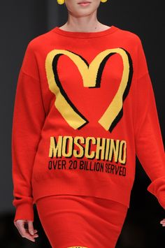 Moschino at Milan Fashion Week Fall 2014 - StyleBistro