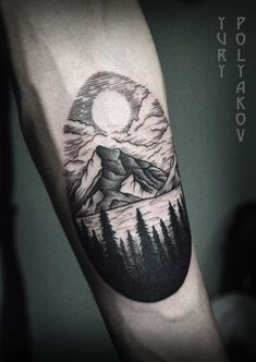 40 Lake Tattoo Designs For Men - Nature Ink Ideas Tattoo - 40 lake tattoo designs for men – nature ink ideas - Body Art Tattoos, New Tattoos, Tattoos For Guys, Sleeve Tattoos, Cool Tattoos, Feather Tattoos, Lake Tattoo, Tattoo Son, Cabin Tattoo