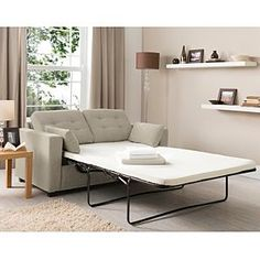 Tolmin Button Sofa Bed - Natural