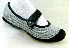 crochet indoor shoes | Flickr - Photo Sharing!