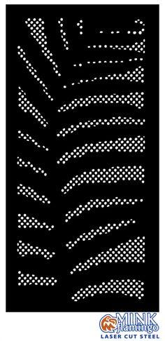 Mink Flamingo Laser Cut Metal screens Sydney, Brisbane, Melbourne, Central Coast NSW privacy garden screens, Cor-Ten, powdercoated aluminium, laser cut panels