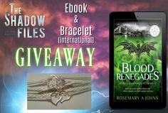 International giveaway from one of The Shadow Files author's Rosemary A Johns https://www.facebook.com/events/776146672774720/permalink/784444458611608/