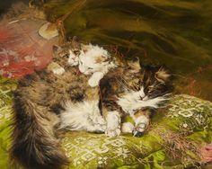 Arthur Wardle - The Green Pillow
