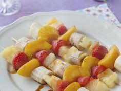 Recette de cuisine Marmiton I Grill, Skewers, Fruit Salad, Appetizers, Meals, Baking, Desserts, Recipes, Album Photo