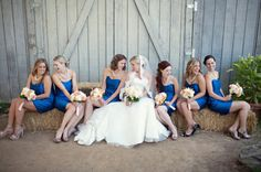 {Real Wedding} Vanessa & Scott: California Rustic Garden Wedding - Oh Lovely Day