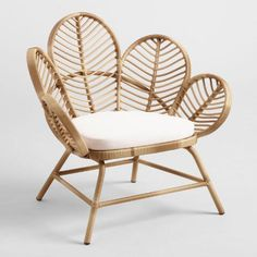 Natural All Weather Wicker Wailea Outdoor Occasional Chair | World Market