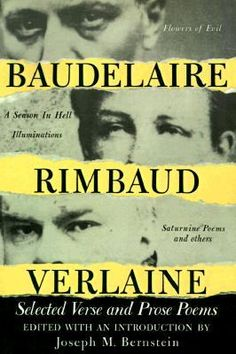 Here, for the first time, the work of three of Frances greatest poets has been published in a single volume: the sensual and passionate glow of Charles Baudelaire, the desperate intensity and challenge of Arthur Rimbaud, and the absinthe-tinted symbolic songs of Paul Verlaine.