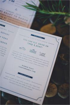 Nautical Wedding - Invitation