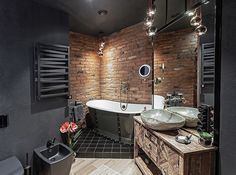 Check out our latest collection of interior designs featuring 17 Stunning Industrial Bathroom Designs You'll Love. Enjoy!