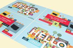 Airbnb + Sonos 'Hello LA' by Bruce Mau Design , via Behance