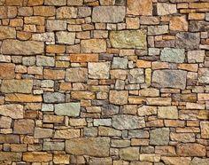 Fondo de foto de textura de muro de piedra Foto de archivo