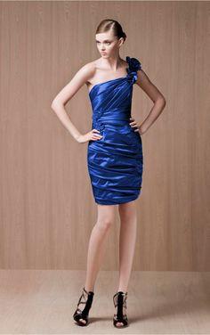 Royal Blue Sheath Knee-length One Shoulder Dress Market Price  AU 231.22  Missy Price. Prom Dresses UkCheap DressesBridal DressesParty ... eb4b0ac09c08