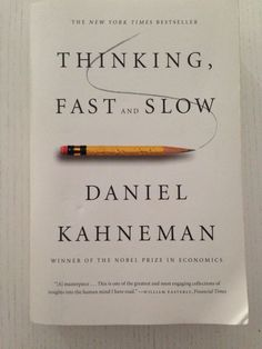Booktopia has Thinking, Fast and Slow by Daniel Kahneman. Buy a discounted Hardcover of Thinking, Fast and Slow online from Australia's leading online bookstore. This Is A Book, The Book, Reading Lists, Book Lists, Daniel Kahneman, Kid Paddle, Great Books, My Books, Thinking Fast And Slow