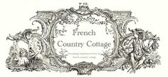 French Country Cottage blog. A lot of interesting links posted on there.