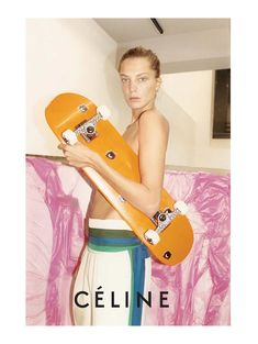 celinecampaign4 Céline Spring 2011 Campaign | Daria Werbowy & Stella Tennant by Juergen Teller