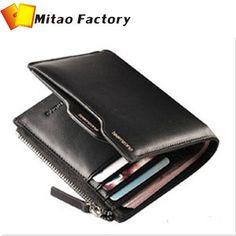 9ce18b3ad Libre shippig nueva llegada 2 colores de cuero genuino carteras/billeteras  estándar para los hombres