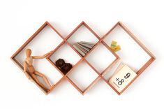 Etsy の 3 Shadow Box display cabinet to display your by Senkki