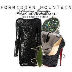 """""""Forbidden Mountain (Maleficent's Castle)"""" by merstrawberries on Polyvore"""