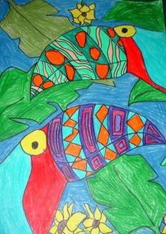 Artsonia Art Museum :: Artwork by Dan106 designer toucans