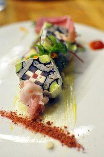 """Sushi Rice Salad """"Shikai Maki"""" at BreadBar, LA"""