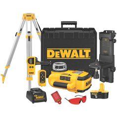 Dewalt DW079KDT, 18V Self-Leveling Int/Ext Rotary Laser Package https://cf-t.com/dewalt-dw079kdt-18v-self-leveling-intext-rotary-laser-package
