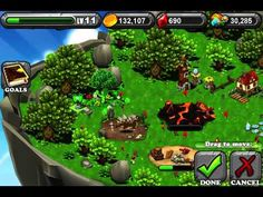 DragonVale - its the most fun game i've ever played. You can breed dragons,build homes for them,race them,feed them,buy them. Very fun available  on the app store