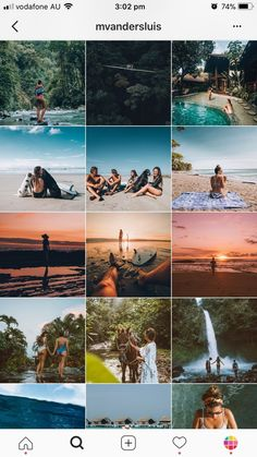 For example, if you are traveling somewhere you could use a line to write about your travel tips, your experience or the name of your destination. Layout Do Instagram, Instagram Grid, Instagram Design, Feed Insta, Best Instagram Feeds, Grid Layouts, Travel Photography, Photo Editing, Phone Backgrounds