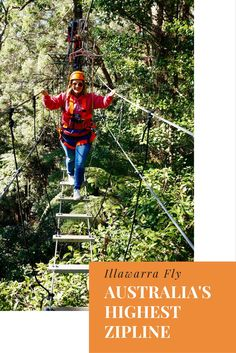 The highest zipline tour in Australia, the Illawarra Fly - The Well Travelled Family Backpacking Europe Tips, Travel Inspiration, Travel Ideas, Travel Tips, Travel Destinations, New Zealand Travel Guide, Australia Travel Guide, Travel Organization, Travel Activities
