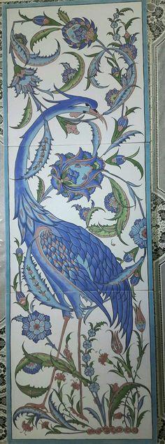 cm karo çini by clare Interesting Drawings, Art Nouveau Architecture, Iranian Art, Roman Art, Arabic Art, Turkish Art, Tile Murals, Ceramic Design, Traditional Art