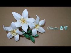 How to fold a simple style beautiful origami vanilla flower or flower? Pentagon paper Design: Fendy Tong More videos on my channel:https:/. Origami Toys, Origami Videos, Origami Ball, Origami Fish, Paper Crafts Origami, Origami 5 Petal Flower, Origami Flowers Tutorial, Paper Flowers Diy, Origami Instructions