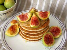 Veglife Channel : Pancakes di grano saraceno con burro di mandorle e fichi (senza glutine)