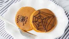 Receta Fácil de Panquecas de Calabaza Saludables para Disfrutar en Halloween   Cocinar en casa es facilisimo.com
