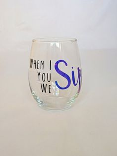 Your place to buy and sell all things handmade Wine By The Glass, Diy Tumblers, Cricut, Glasses, Unique Jewelry, Tableware, Handmade Gifts, Vintage, Etsy