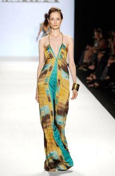I love this dress. fashion week of Trinidad and Tobago..stylist Anya Ayoung-Chee..