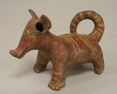 Dog (?), 4th-7th century. Nayarit. The Metropolitan Museum of Art, New York. The Michael C. Rockefeller Memorial Collection, Bequest of Nelson A. Rockefeller, 1979 (1979.206.338)