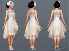 sims wedding dress clothes