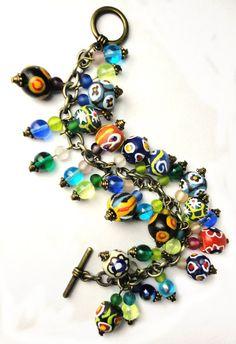 African Queen Charm Bracelet Fully Loaded by LyndaHayesDesigns, $115.00