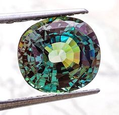 "#alexandrite known as the ""#emerald by day, #ruby by night,"" is an extremely rare color changing variety of Chrysoberyl. The largest-faceted Alexandrite stone lives at the Smithsonian and weighs in at over 65.08 carats! But did you know that it's also been said that a 141.92 carat Alexandrite is in existence? Not much is known about this privately owned stone in Japan, except that it is listed as the largest cut Alexandrite by the #guinessbookofrecords website. At 50-75k per carat, that's a ..."