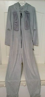 Forever Lazy As Seen on TV Gray Fleece Lounger size Adult Medium new