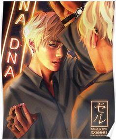 Taehyung Mirror DNA poster xxerru Poster