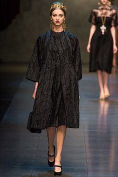 baroque fashion winter 2013 trend | Dolce & Gabbana Fall/Winter 2013 | სილამაზე და ...