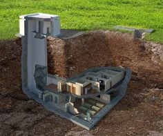 As World War III fears rise, see inside stunning £11m nuclear bunker you could live in during fallout