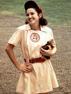 20 years later and I still want the Rockford Peaches Baseball dress. And yes, it counts as young professional chic w/o the baseball hat