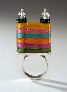 The Rainbow Castle by 2Roses Jewelry, via Flickr