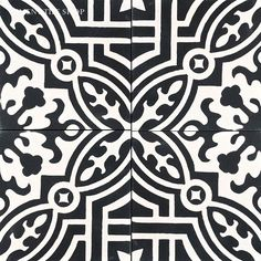 Cement Tile Shop has beautiful Fountaine handmade encaustic cement tile ready to ship. Marble Mosaic, Mosaic Tiles, Wall Tiles, Painting Patterns, Tile Patterns, Cement Crafts, Encaustic Tile, Wall Treatments, Handmade Shop