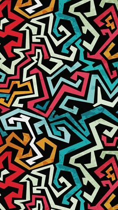 Pop art wallpaper pattern iphone wallpapers ideas for 2019 Graffiti Wallpaper Iphone, Pop Art Wallpaper, Samsung Galaxy Wallpaper, Wallpaper Iphone Cute, Pattern Wallpaper, Iphone Wallpapers, Toddler Art Projects, Digital Print, Rainbow Art